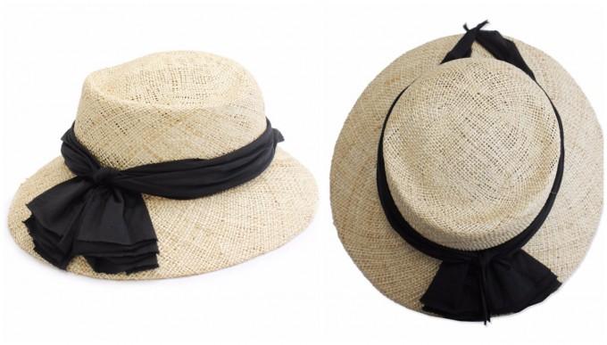 「OLIKA(オリカ)」のシルク素材でできた帽子