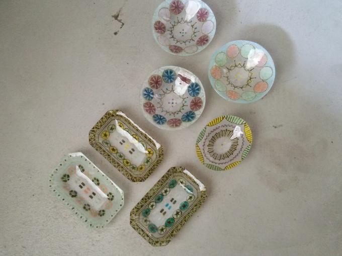 竹中悠記(たけなかゆうき)さんのガラス作品たち