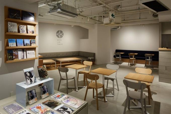 BOOK LAB TOKYOのソファー席やデスクなど
