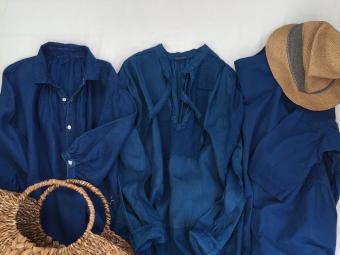 藍染で蘇るナチュラルファッション。あなただけの一着が見つかる「四季折々の染め物展-初夏の藍-」