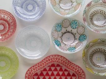 夏の食卓に美しいみずみずしさを届ける竹中悠記さんのガラス作品