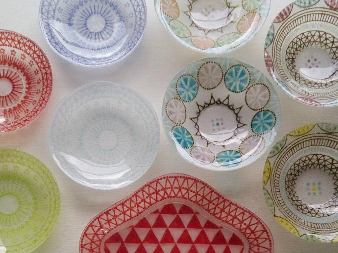 竹中悠記(たけなかゆうき)さんが手がけた鮮やかなガラス作品たち