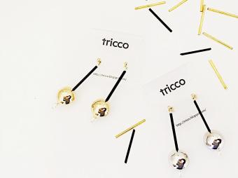 パーツの個性が作り上げるひとつの輝き。思わず目を奪われる「tricco」のアクセサリー