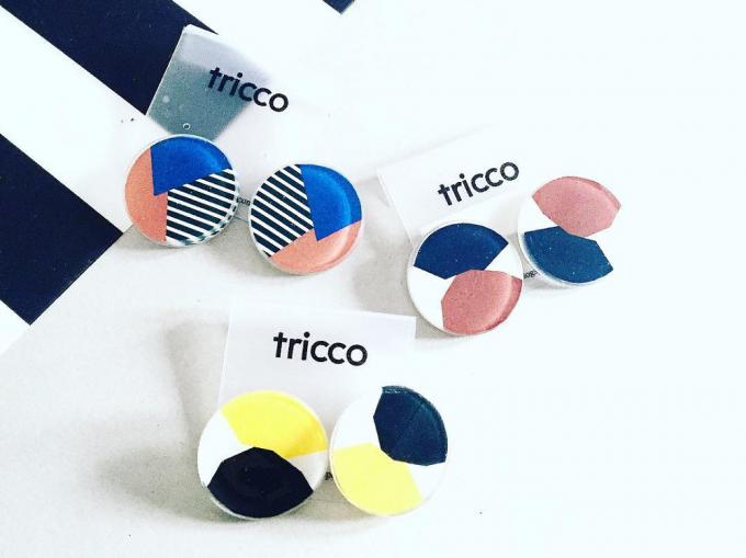 「tricco(トリッコ)のイヤーアクセサリーたち