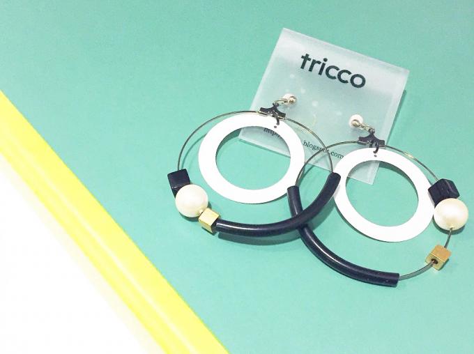 「tricco(トリッコ)」のモビール風ピアス