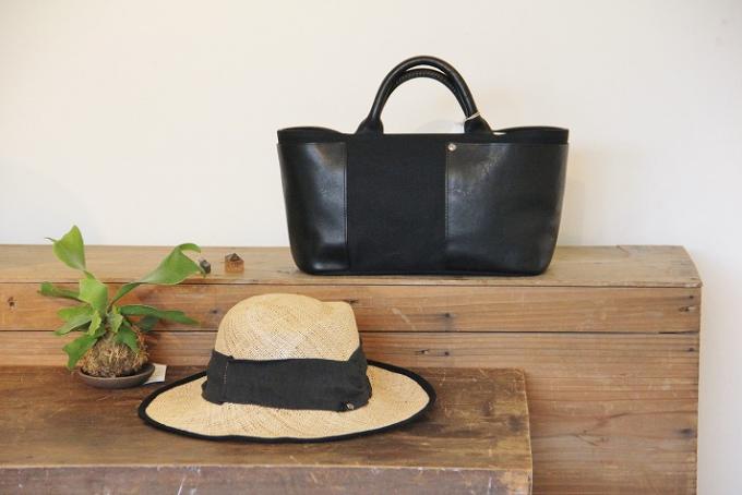 「nine(ニーネ)」のバッグと帽子