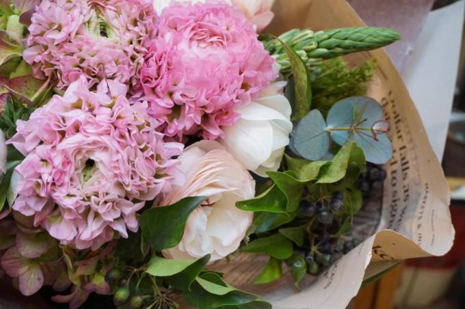 名古屋にあるフラワーショップ「プー・コニュ」のお花