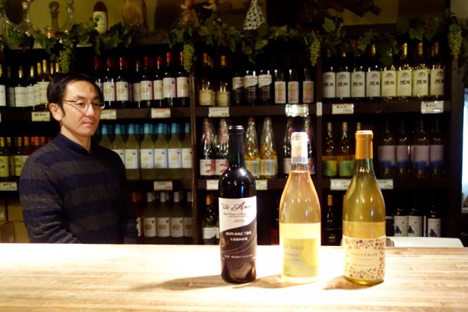 「くらむぼんワイン」の4代目オーナーであり醸造家の野沢たかひこさん