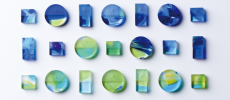 まるで沖縄の海と森を包み込んだよう。琉球ガラスから生まれたアクセサリー「Ryu Kyu Iro」