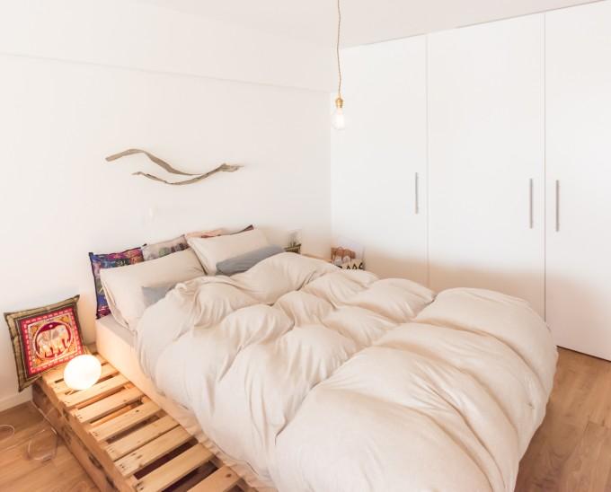 真似したいお洒落な手作りベッド。「TOMOS」