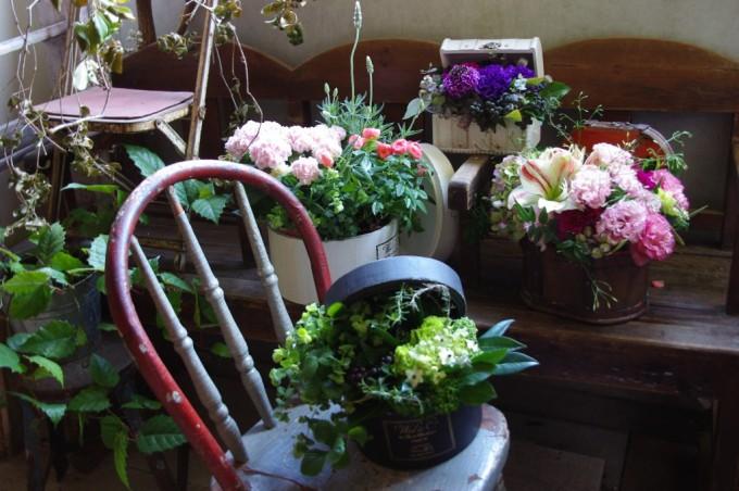 名古屋のお花屋さん「プー・コニュ」のお花