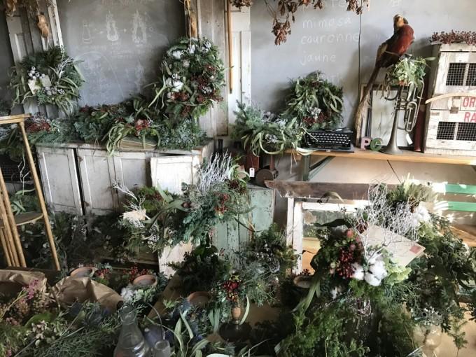 名古屋のお花屋さん「プー・コニュ」のグリーン
