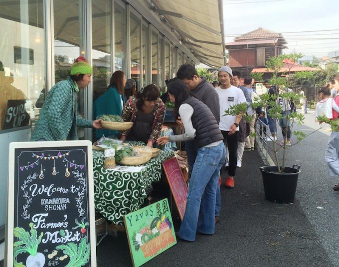 鎌倉にあるコペンローカルベースカフェではマルシェなどのイベントも開催