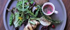 代々木上原のNODE UEHARA(ノードウエハラ)の野菜や雑穀がバランスよく入ったビューティプレート