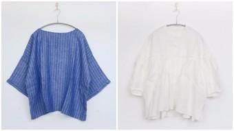 暑い夏もさわやかでおしゃれに。大人の涼しげシャツ&ブラウス6選