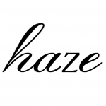 haze(ヘイズ)のロゴ
