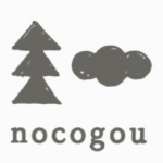 「nocogou(ノコゴウ)」のロゴ