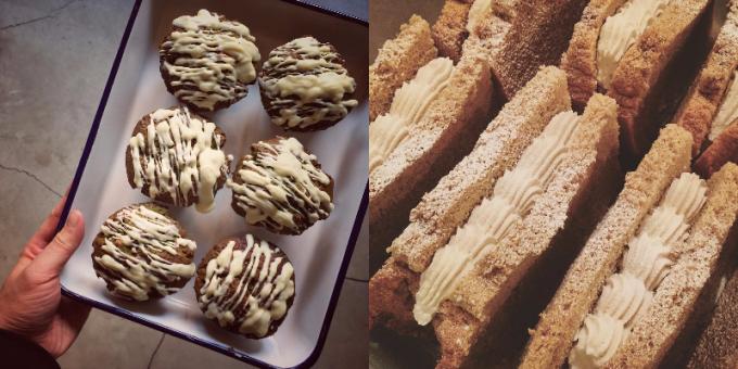 鎌倉のコーヒーロースター「THE GOOD GOODIES」のスコーンや焼き菓子の写真