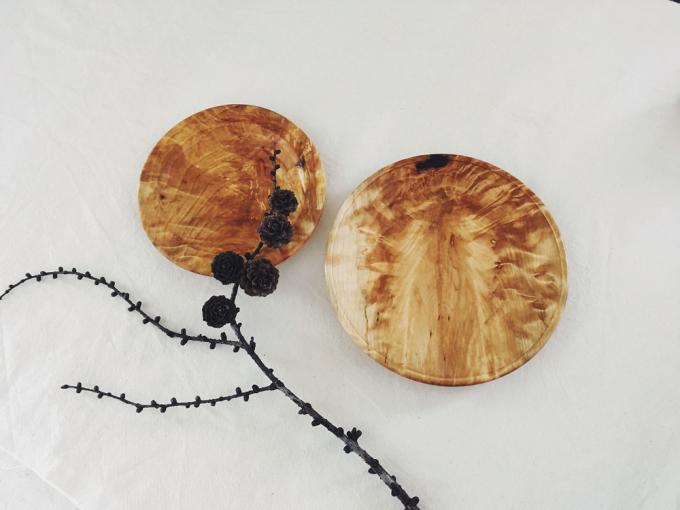 クドウテツトさんの木の器2種類