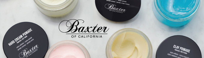 「Baxter of California(バクスターオブカリフォルニア)」のケア用品たち