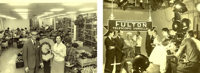 FULTON(フルトン)の傘の歴史