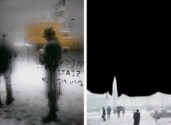雨さえもあたたかく映し出す。「ニューヨークが生んだ伝説 写真家 ソール・ライター展」
