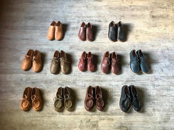 「nitoel」革靴の種類とカラーバリエーション