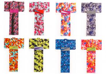 今夏の賑わいは鮮やかに美しく魅せる。「蜷川実花の花」があしらわれた浴衣が限定で登場