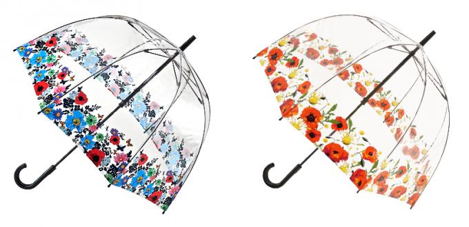 フルトンおすすめ傘「Birdcage(バードケージ)」2種花柄