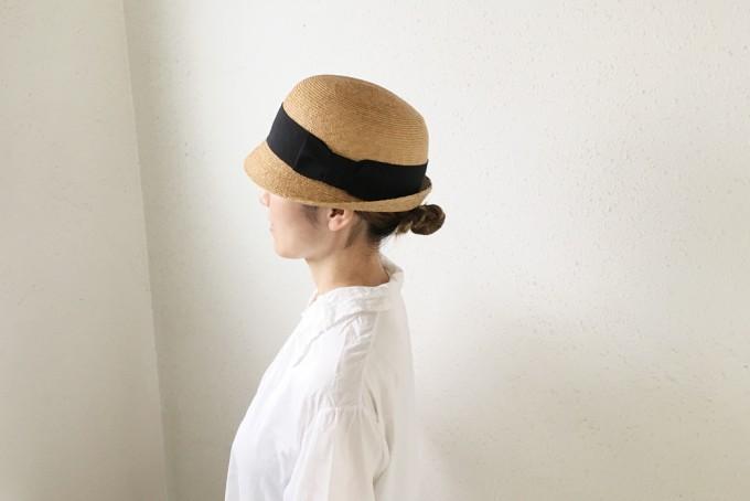 千駄木にある帽子専門店「C.A.G.(セーアージー)」でオーダーした麦わら帽子
