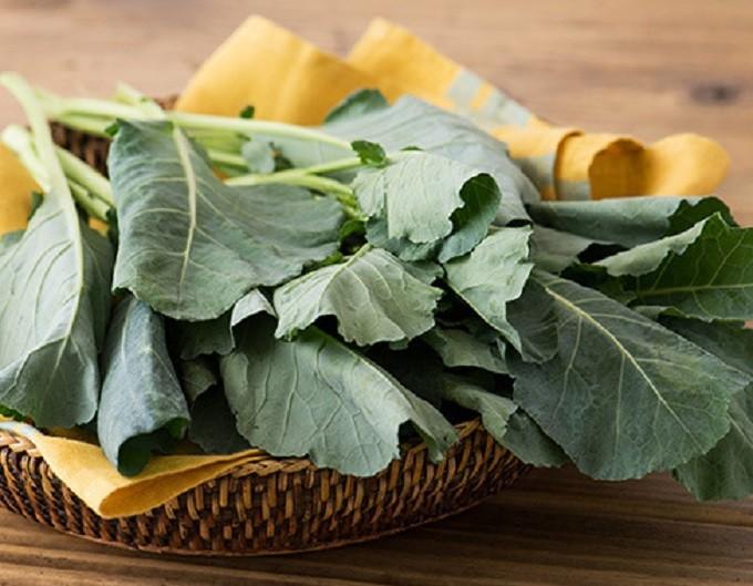栄養価満点な葉野菜ケールの写真(オイシックス)