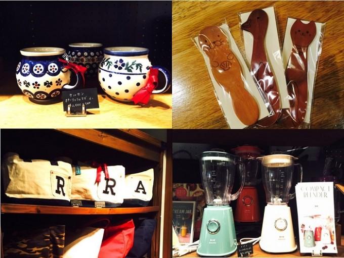 「IDOBATA」の店内の雑貨たち