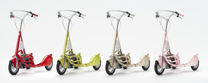 新感覚の自転車「ウォーキングバイシクル」4台