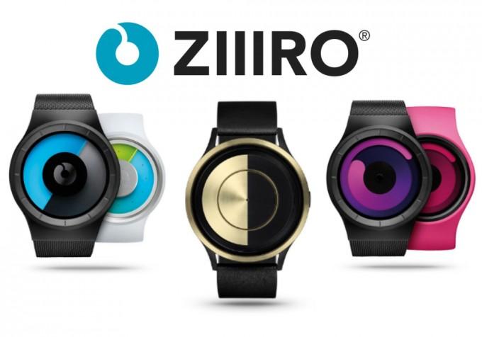 ZIIIRO(ジーロ)の腕時計3種