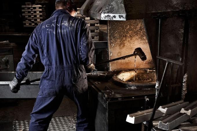 デンマーク調理器具スキャンパンの職人