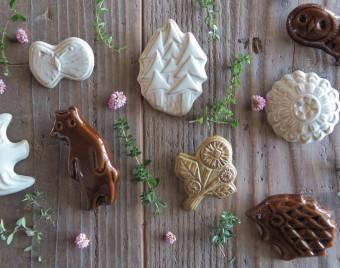 日常に「物語」を紡ぐ。ロマンチックでナチュラルな「キエリ舎」の陶器でできたアクセサリーや器