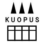 埼玉にある緑茶ショップ「kuopus」のロゴ