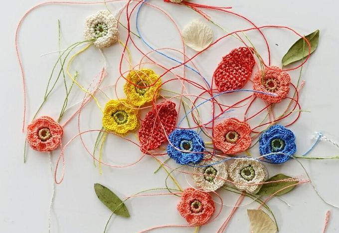 「gallery LOTTA」のかぎ針編み作品