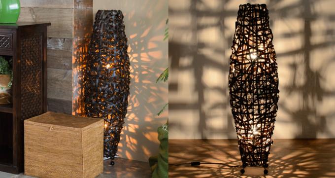 「KAJA(カジャ)」の優しい光でお部屋を照らすフロアランプ