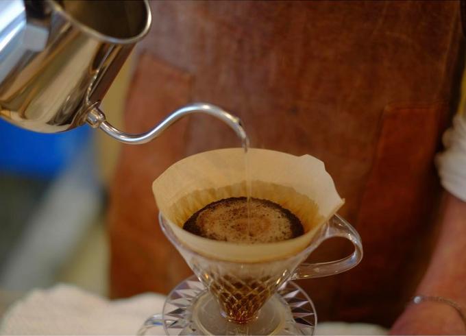 「イマソラ珈琲」で味わえる香り豊なコーヒー