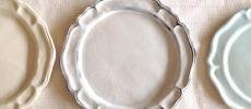 陶芸作家「YUKIKONAGAHAMA」の洋風のプレート