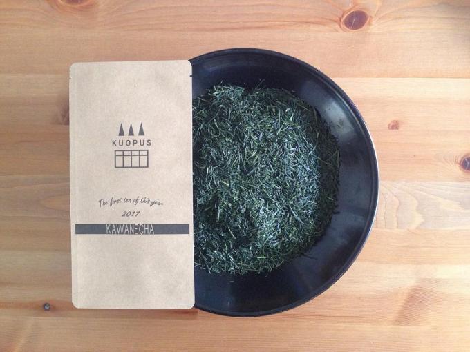 埼玉にある緑茶ショップ「kuopus」の新茶『川根茶』