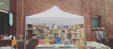 イベント出店時のanalog booksのテント