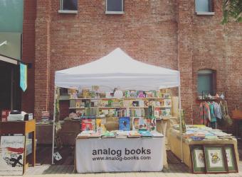 店舗を持たない古本屋さん。ここにしかない一冊と出逢える「analog books」