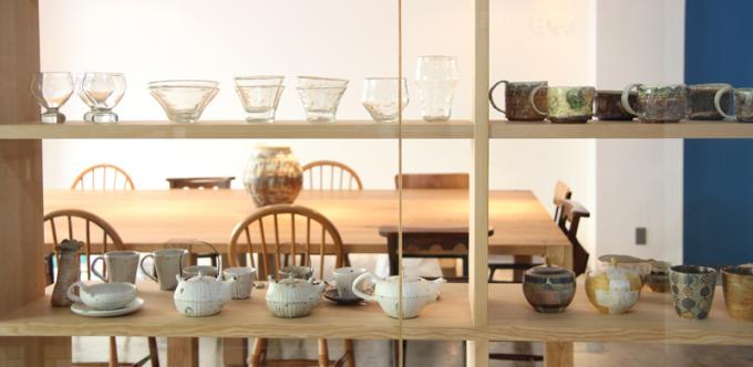 「イマソラ珈琲」セレクトの素敵な器たち