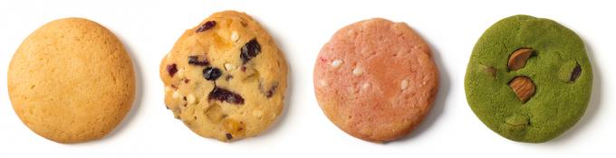 日曜日のクッキー。のクッキー4種類