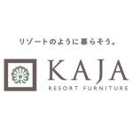 インテリアショップ「KAJA」のロゴ