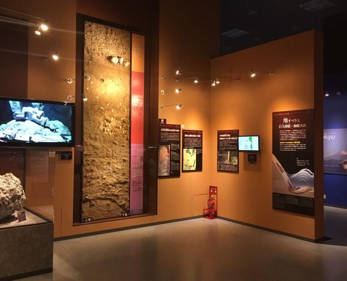 深海2017 深海底の調査の展示