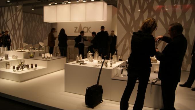 「ZACK(ツァック)」の展示会の様子