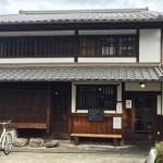 奈良町にあるカフェ「カナカナ」の外観